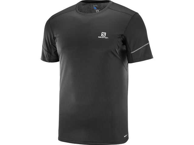 Salomon Agile Camiseta Manga Corta 2019 Hombre, black